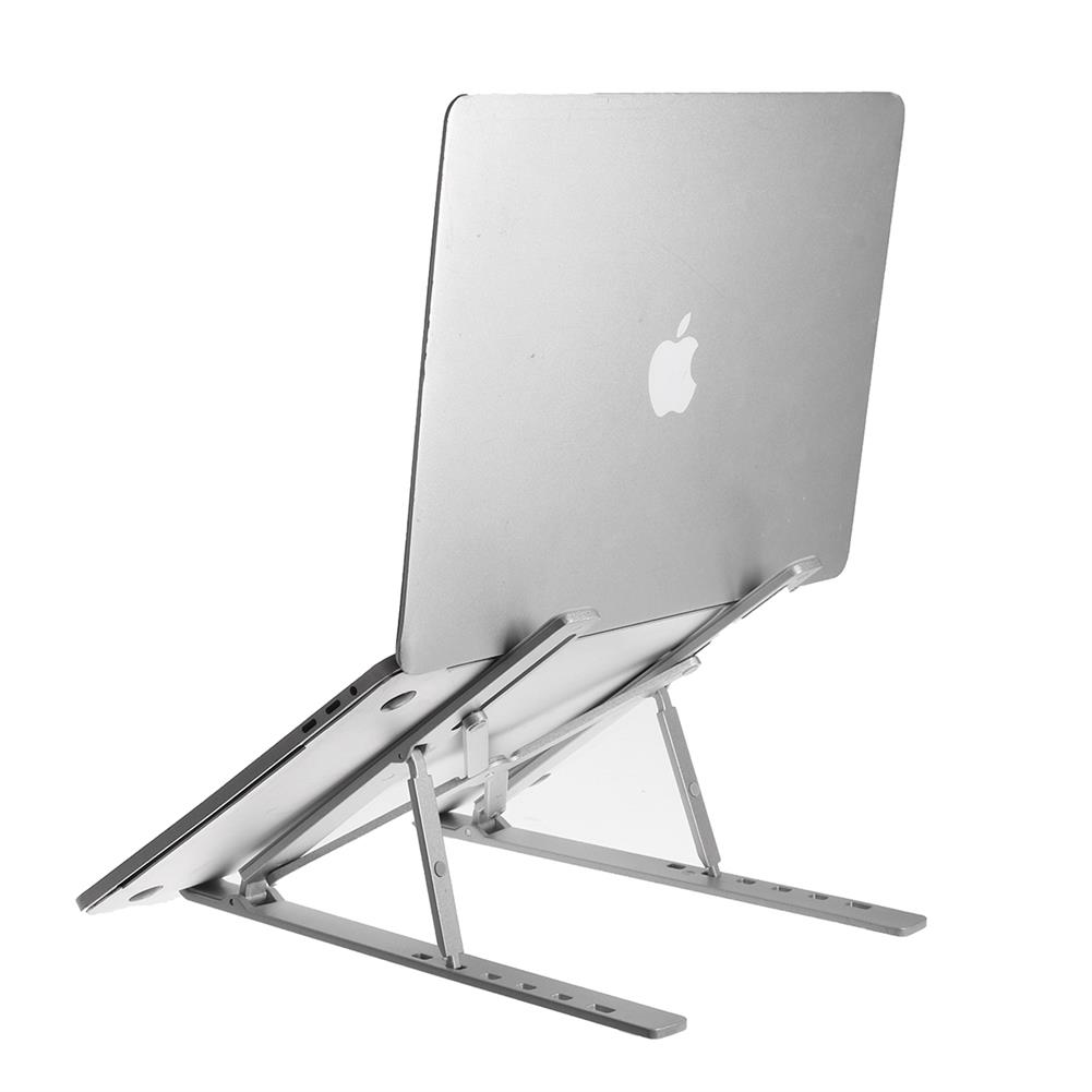 laptop-stands Foldable Adjustable Macbook Laptop Stand Hoder 5-15cm Portable Desktop Computer Bracket Cooling Riser for Samsung Galaxy Note S20 ultra for Xiaomi Mi 10 for iPhone 12 Pro Max HOB1748362 1 1