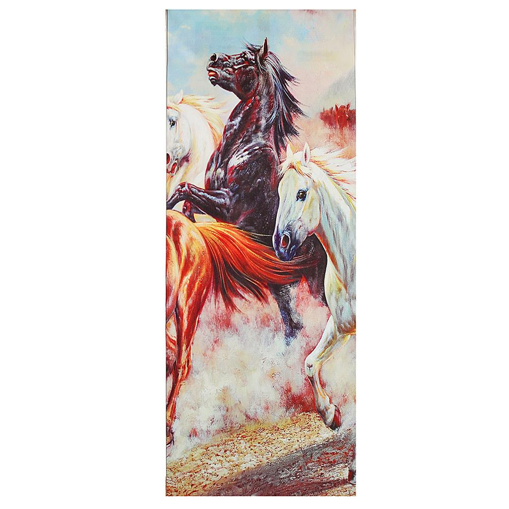 other-learning-office-supplies 5 Panels Horses Modern Painting Wall Decoration Art Picture Hanging Drawing Living Bedroom Decoration no Frame HOB1748823 3 1