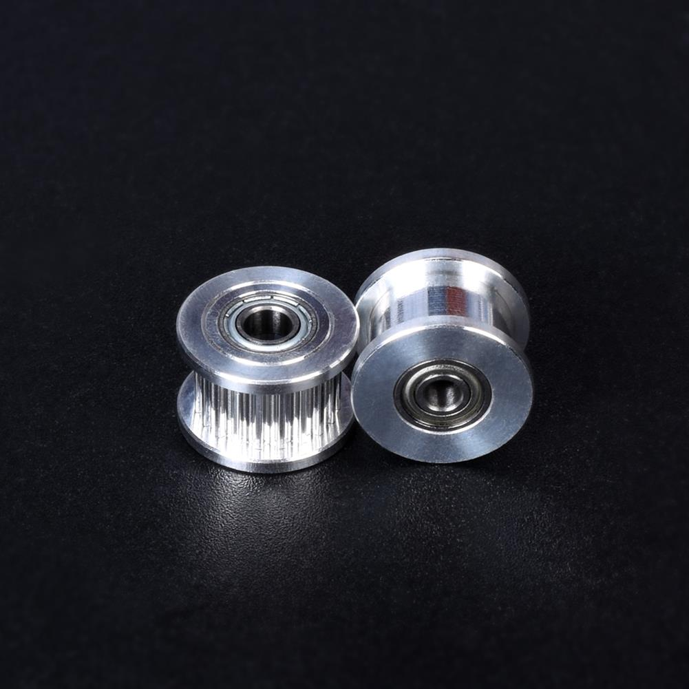 3d-printer-accessories BIGTREETECH GT2 Idler Timing Pulley 3/4/5mm Bore 20 Tooth Wheel for Prusa i3 MK3 GT2 Belt 3D Printer Parts HOB1749237 1 1