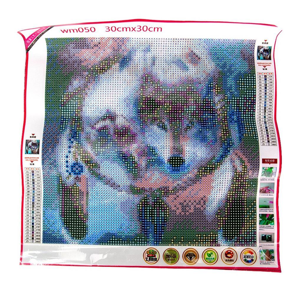 art-kit DIY 5D Diamond Painting Kit Dream Catcher Wolf Handmade Craft Cross Stitch Embroidery Home Wall Decoration HOB1749345 2 1