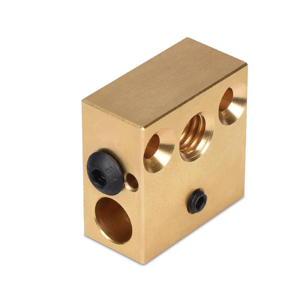 3d-printer-accessories BIGTREETECH Brass Heater Block for Swiss CR10 Hotend Ender 3 Mk7/Mk8/Mk9 J-head Extruder 3D Printer Part HOB1749879 1