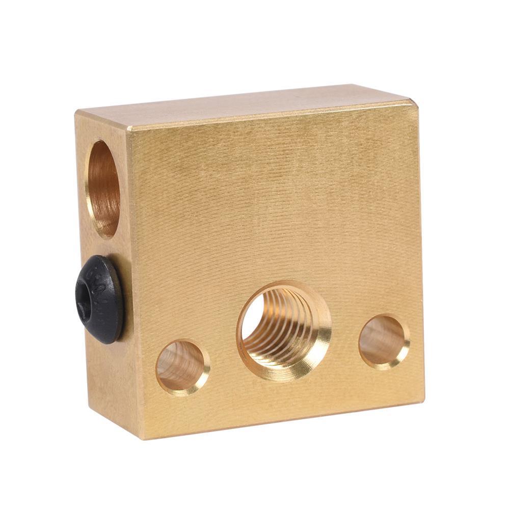 3d-printer-accessories BIGTREETECH Brass Heater Block for Swiss CR10 Hotend Ender 3 Mk7/Mk8/Mk9 J-head Extruder 3D Printer Part HOB1749879 1 1