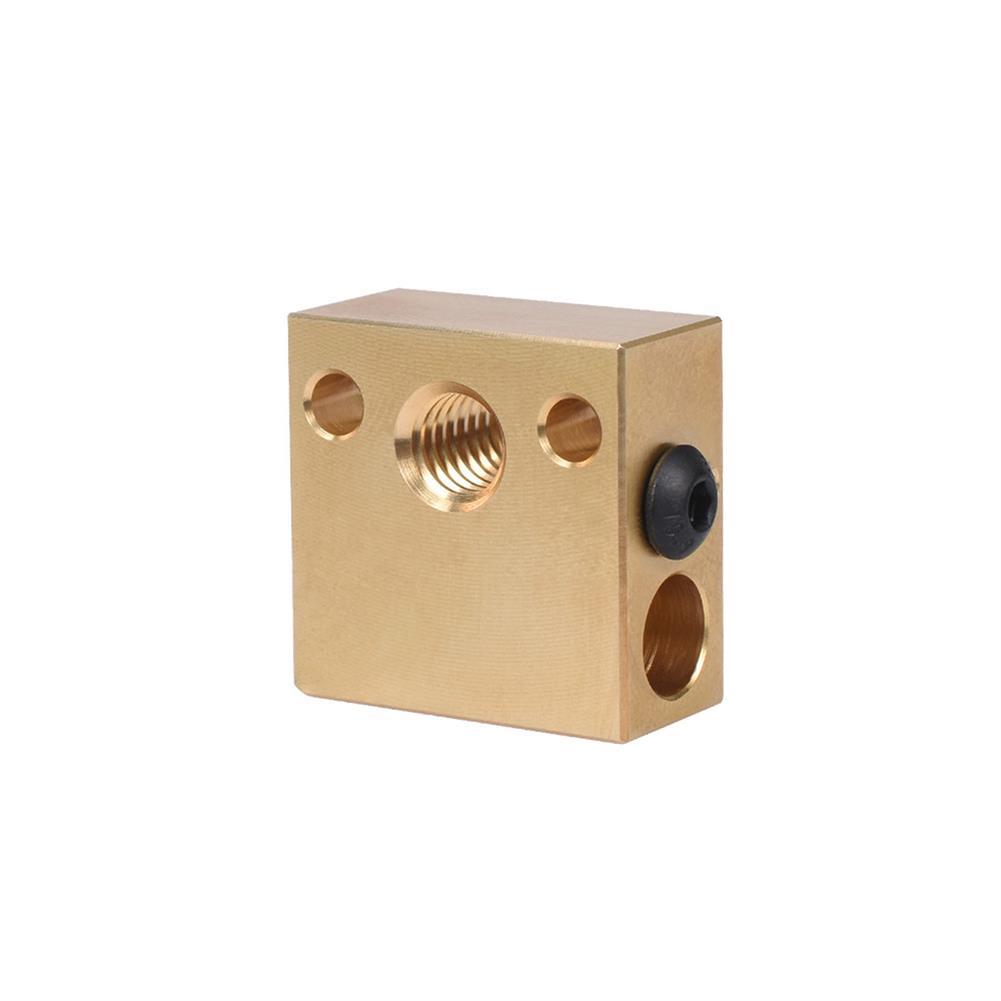 3d-printer-accessories BIGTREETECH Brass Heater Block for Swiss CR10 Hotend Ender 3 Mk7/Mk8/Mk9 J-head Extruder 3D Printer Part HOB1749879 3 1