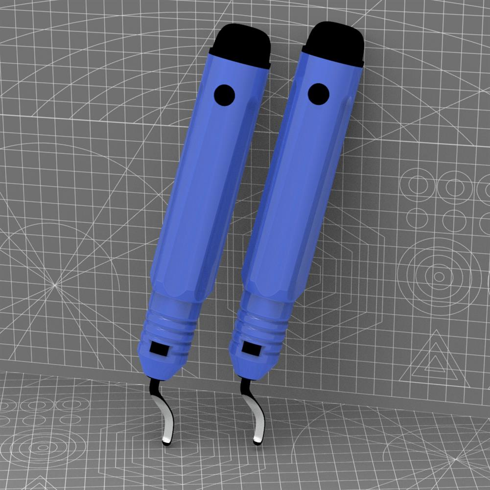3d-printer-accessories 3D Printing Model Trimmer Base Repair Optimization Tools Deburring Trimming Knife Stainless Steel Scraper Chamfer for 3D Printer Part HOB1750030 1 1
