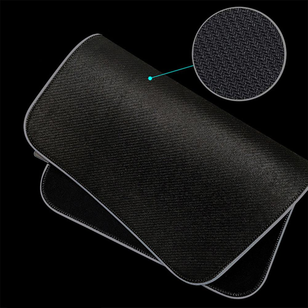 mouse-pads-keyboards-mouse USB RGB Luminous Mouse Pad Waterproof LED Mouse Mat Game Keyboard Antiskid Mouse Pad 4mm Thick HOB1750075 3 1