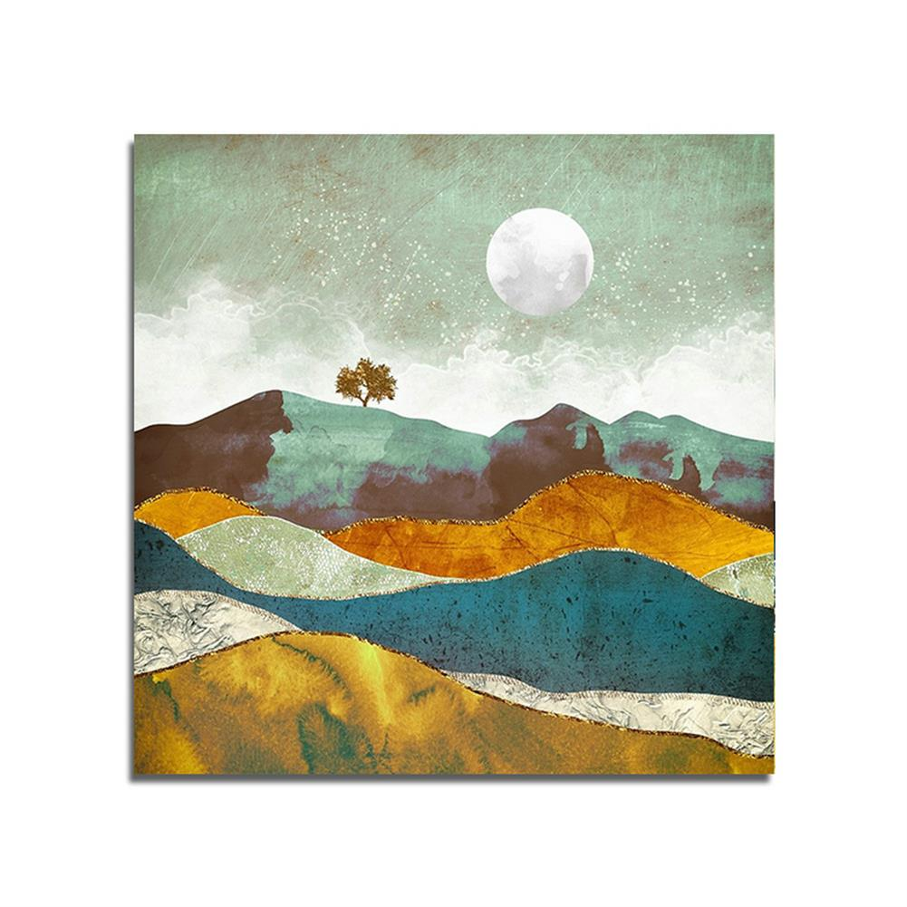 art-kit 1 Piece Landscape Canvas Painting Sunset Wall Decorative Art Print Picture Frameless Wall Hanging Home office Decoration HOB1750484 1 1