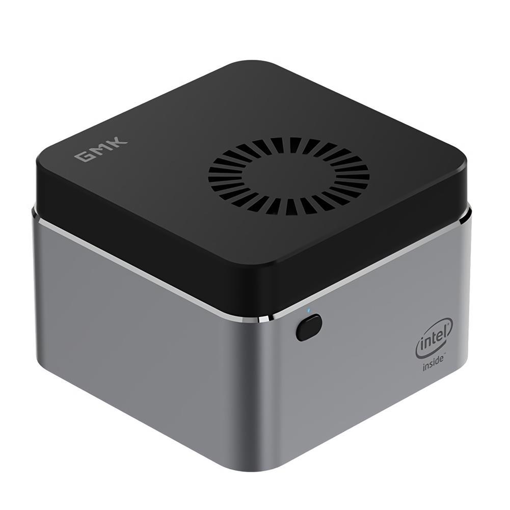mini-pc GMK NucBOX intel Celeron J4125 8GB LPDDR4 128G SSD Mini PC Desktop PC Mini Computer Quad Core 2.0GHz to 2.7GHz TDP 10W M.2 2242 SATA Type-C HDMI Windows 10 BT4.2 HOB1750488 1