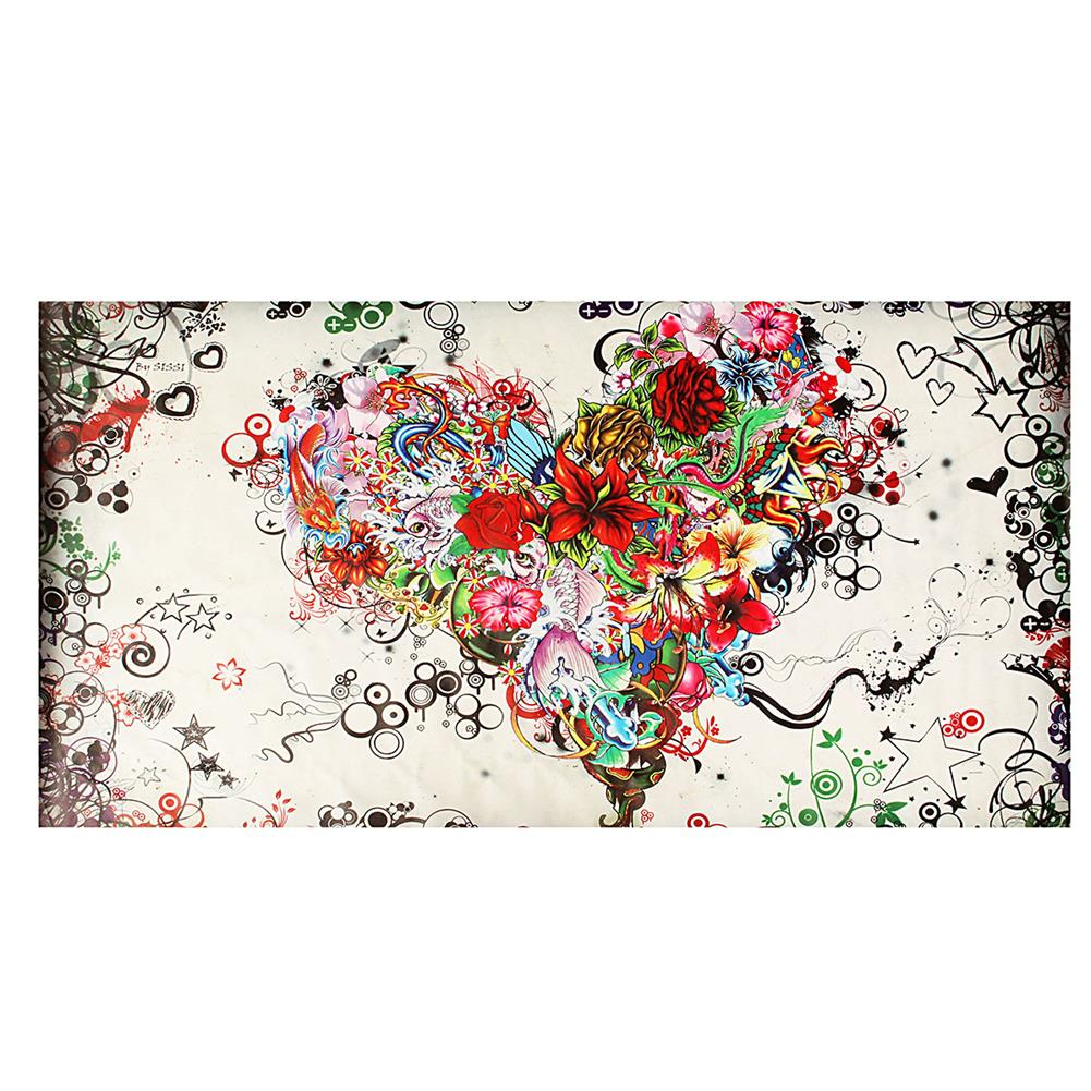 art-kit Hand-painted Modern Abstract Wall Art Painting on Canvas Flower Heart Hanging Picture Living Room Wall Decoration no Frame HOB1750931 1 1
