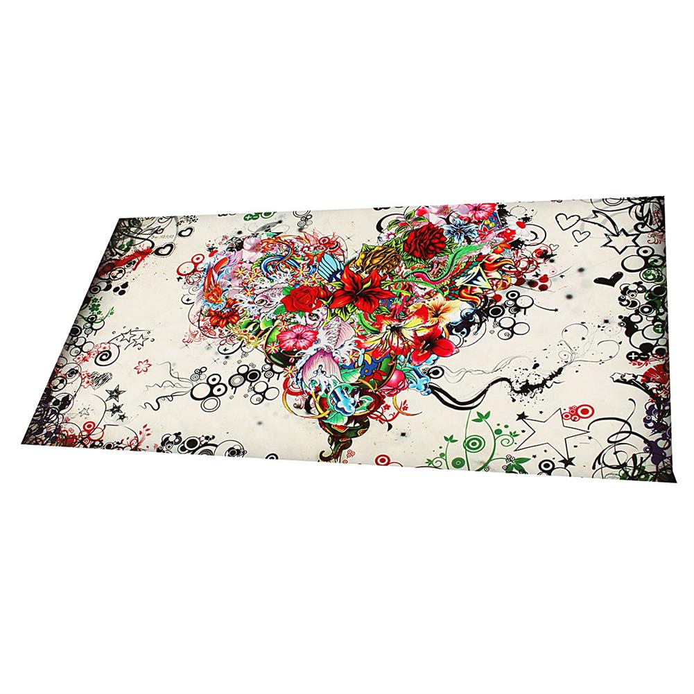 art-kit Hand-painted Modern Abstract Wall Art Painting on Canvas Flower Heart Hanging Picture Living Room Wall Decoration no Frame HOB1750931 2 1