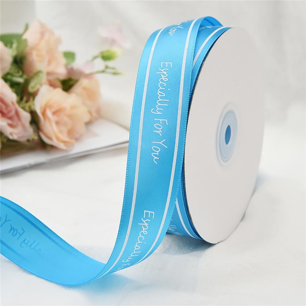 stationery-tape 2.5cm Especially for You Printed Satin Ribbon Gift Flowers Packing Belt for Wedding Party Decorations DIY Crafts Ribbon HOB1750982 3 1