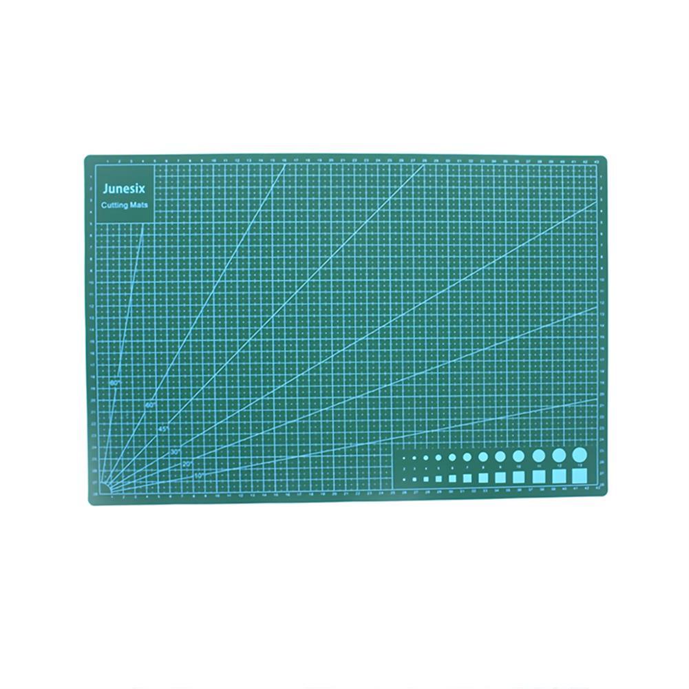 paper-cutter Junesix A2 A3 A4 PVC Cutting Mat Durable Self Healing DIY Cutting Mat Sewing Student Art Paper Engraving Pad HOB1751405 1 1