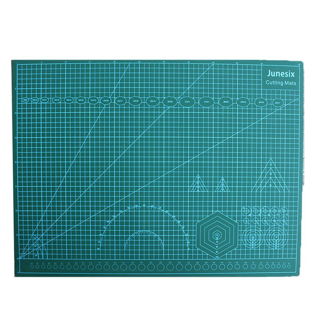 paper-cutter Junesix A2 A3 A4 PVC Cutting Mat Durable Self Healing DIY Cutting Mat Sewing Student Art Paper Engraving Pad HOB1751405 2 1