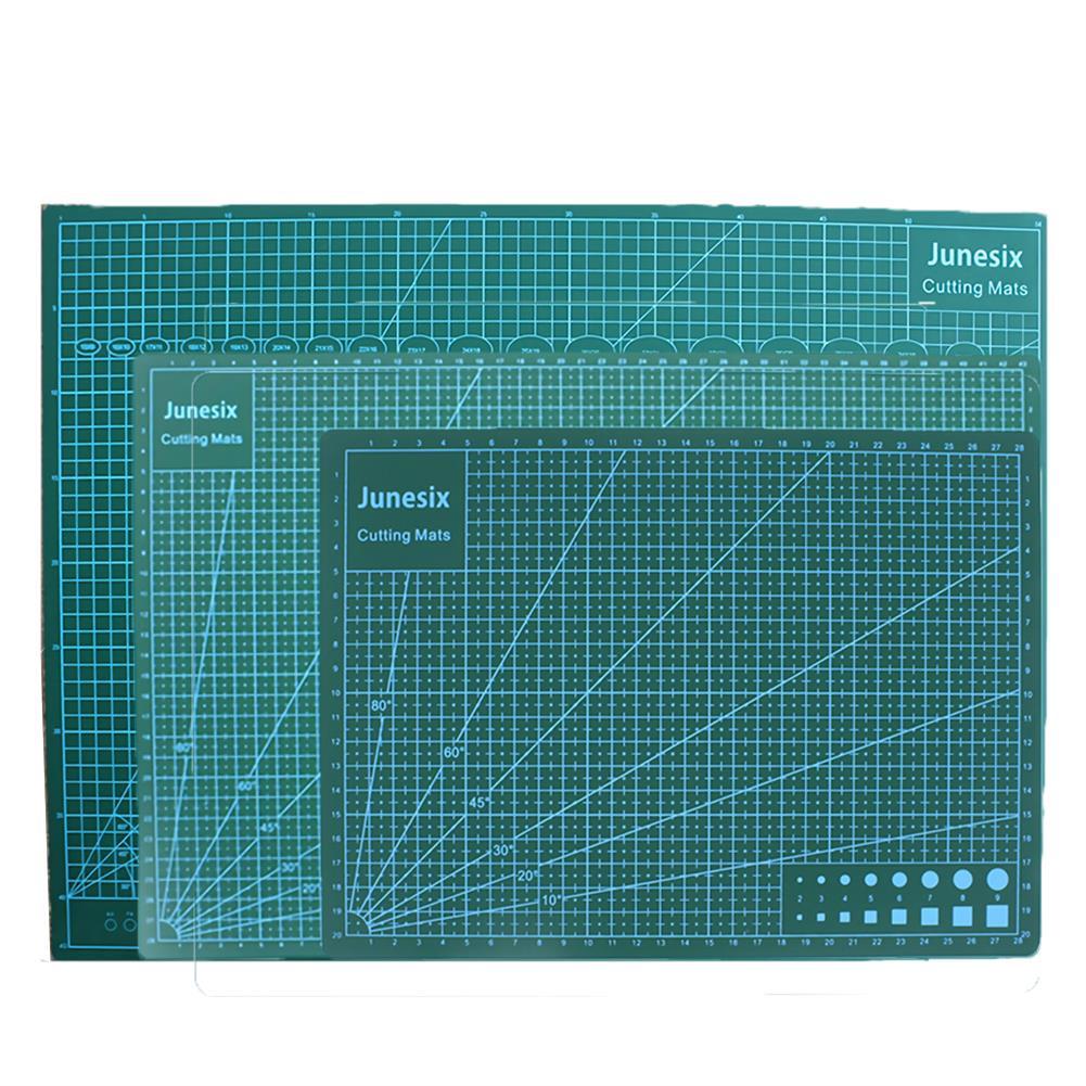 paper-cutter Junesix A2 A3 A4 PVC Cutting Mat Durable Self Healing DIY Cutting Mat Sewing Student Art Paper Engraving Pad HOB1751405 3 1