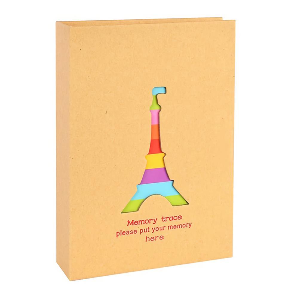 folder-file-pocket, filing 6 inch Cute Baby Photo Album 100 Sheets insert Page Album Kids DIY Anniversary Memory Album Book Album Photo HOB1751860 1