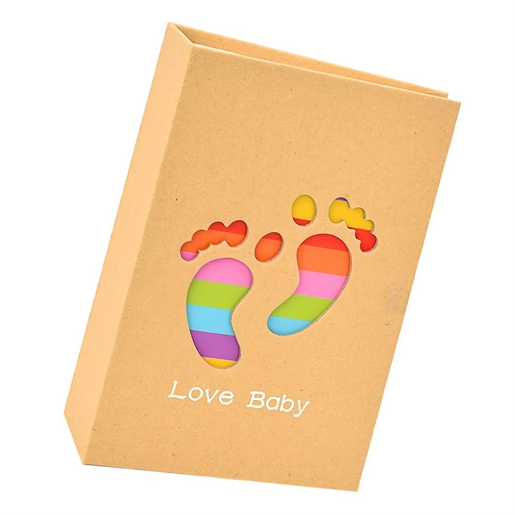folder-file-pocket, filing 6 inch Cute Baby Photo Album 100 Sheets insert Page Album Kids DIY Anniversary Memory Album Book Album Photo HOB1751860 3 1