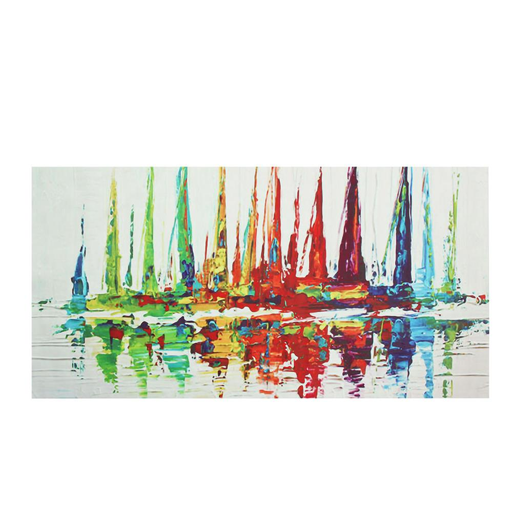 art-kit Abstract Sailboat Canvas Print Painting Oil Painting Wall Decorative Printing Art Picture Frameless Home office Decor HOB1752042 1