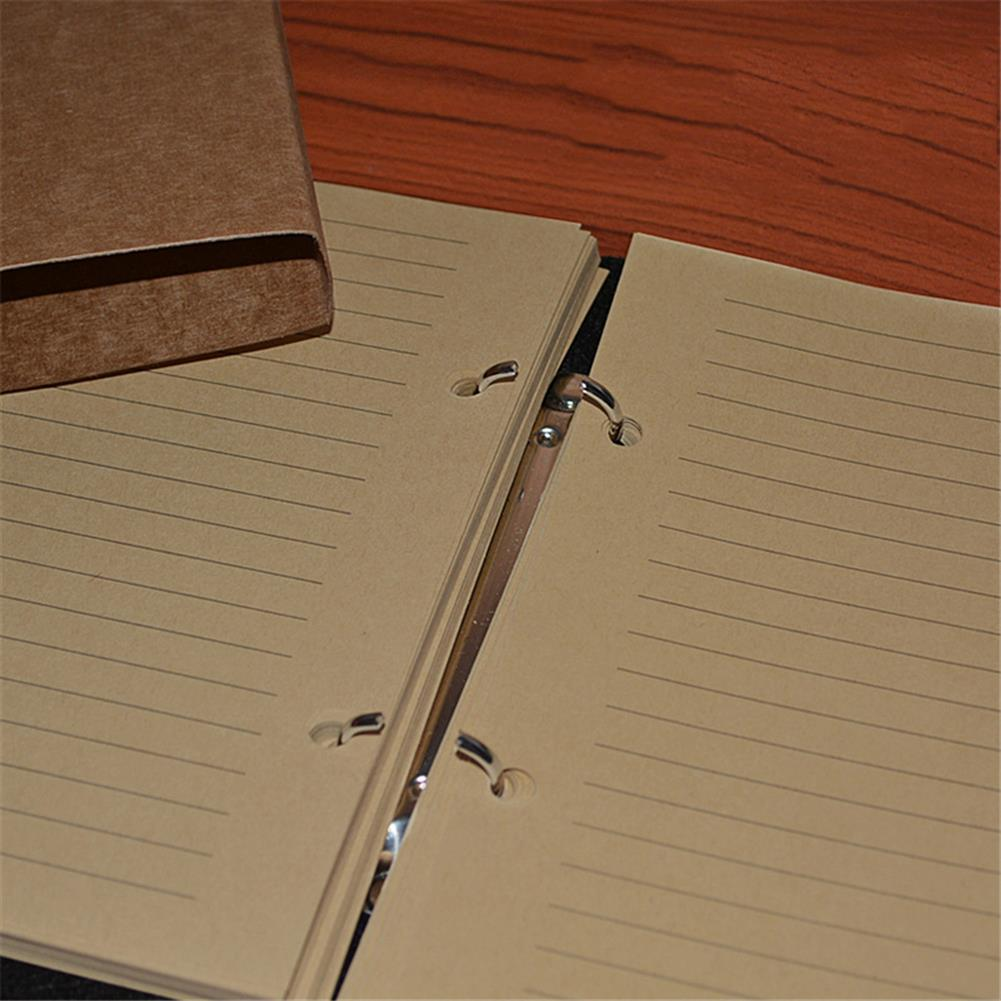 paper-notebooks Felt Soft Leather Travel Notebook with Lock Key Diary Notepad Kraft Paper for Business Sketching Writing Creative Gifts HOB1753033 3 1