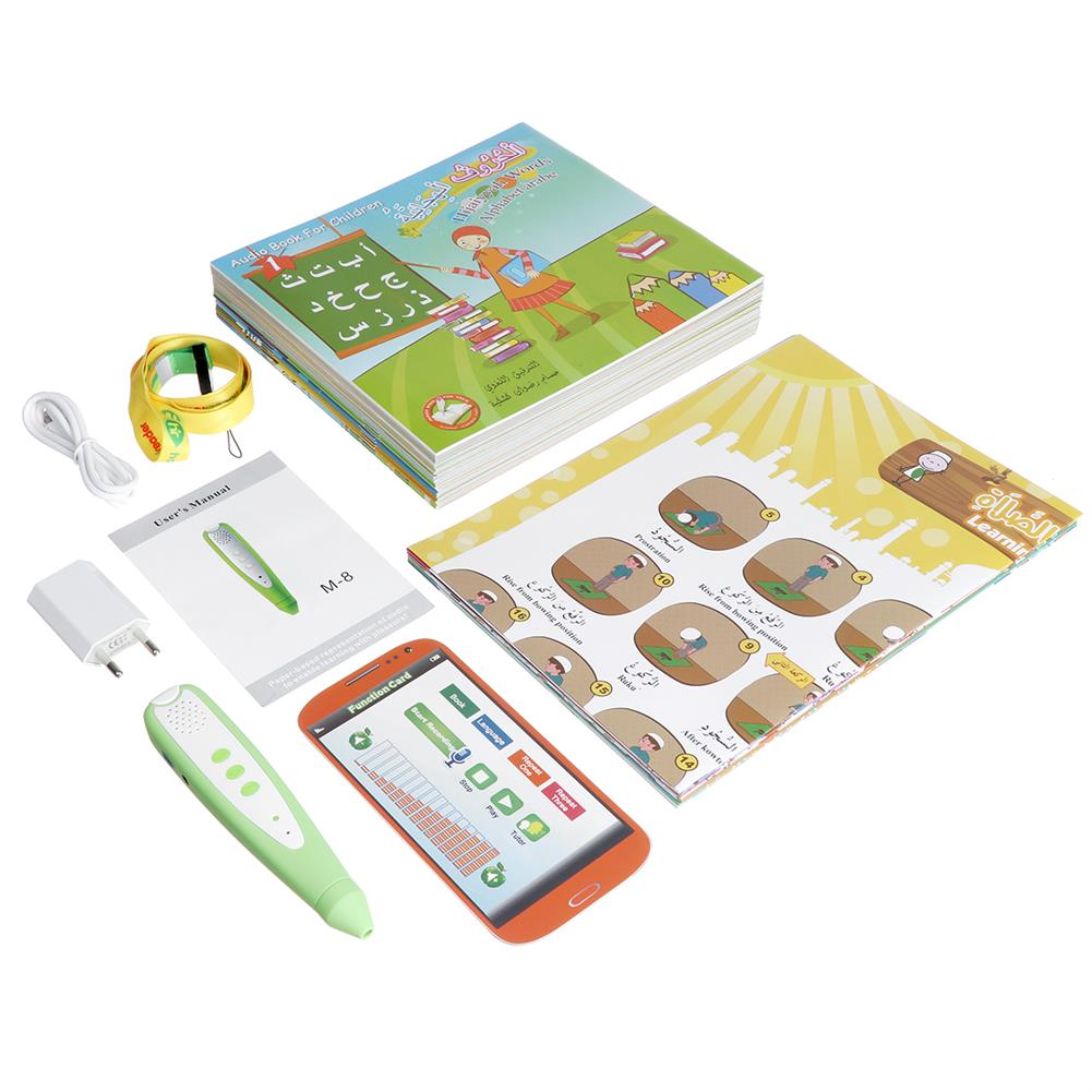 other-learning-office-supplies Kids Quran Learning Toys with Reading Pen Nine Language Children E-book Early Education Reading Book Stationery Supplies HOB1753696 3 1