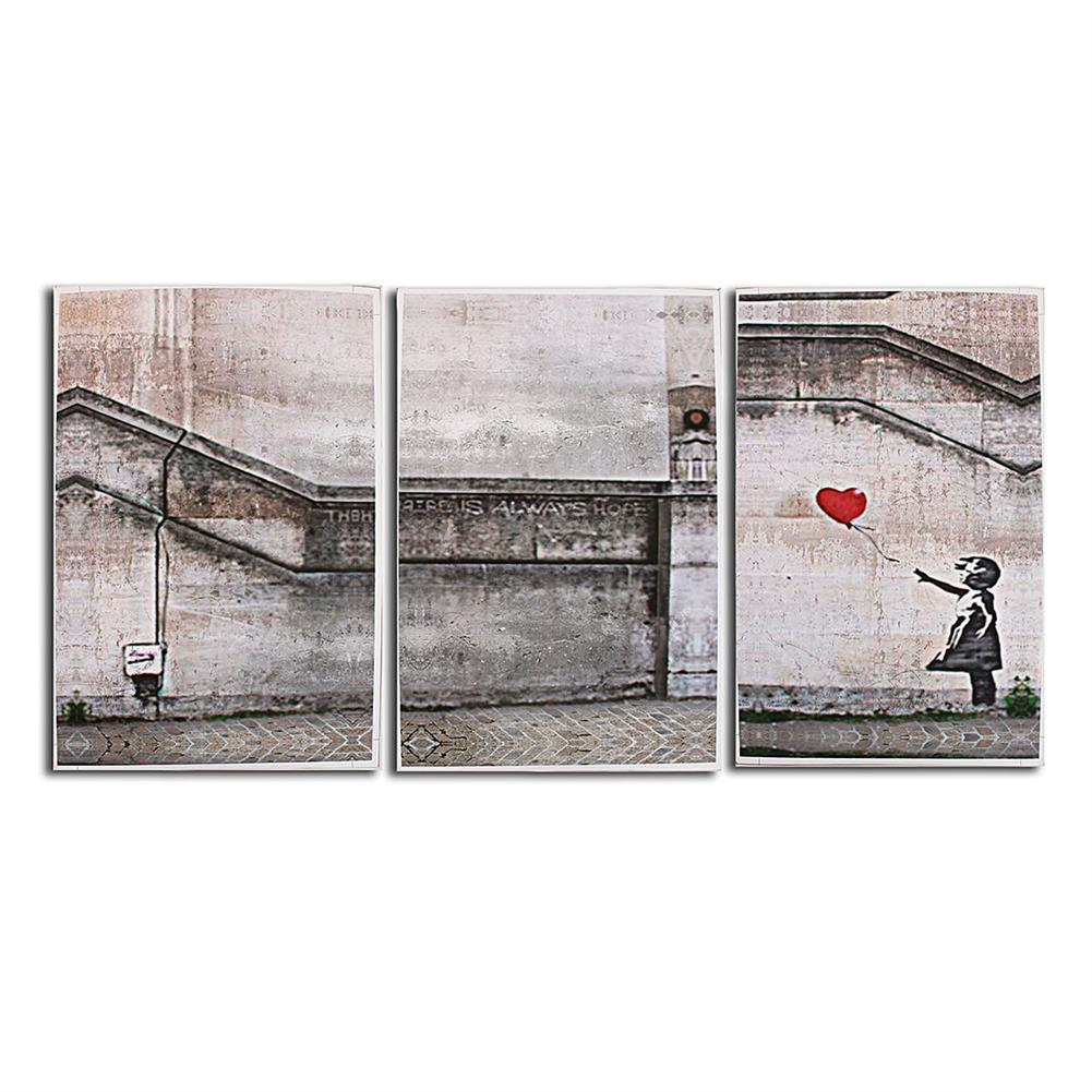 other-learning-office-supplies 3 Piece Large Black and White Decorative Painting Modern Sofa Background Wall Painting 40*60cm no Frame HOB1753701 1