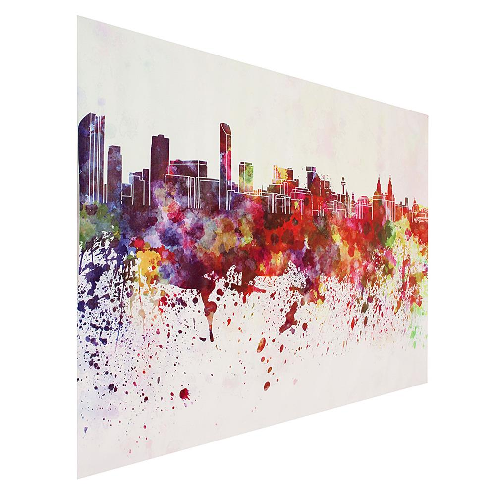 other-learning-office-supplies DIY Art Painting Color City Building Painting Canvas Decor Home Decoration Wall Pictures Living Room Wall Home Decor HOB1753798 1 1