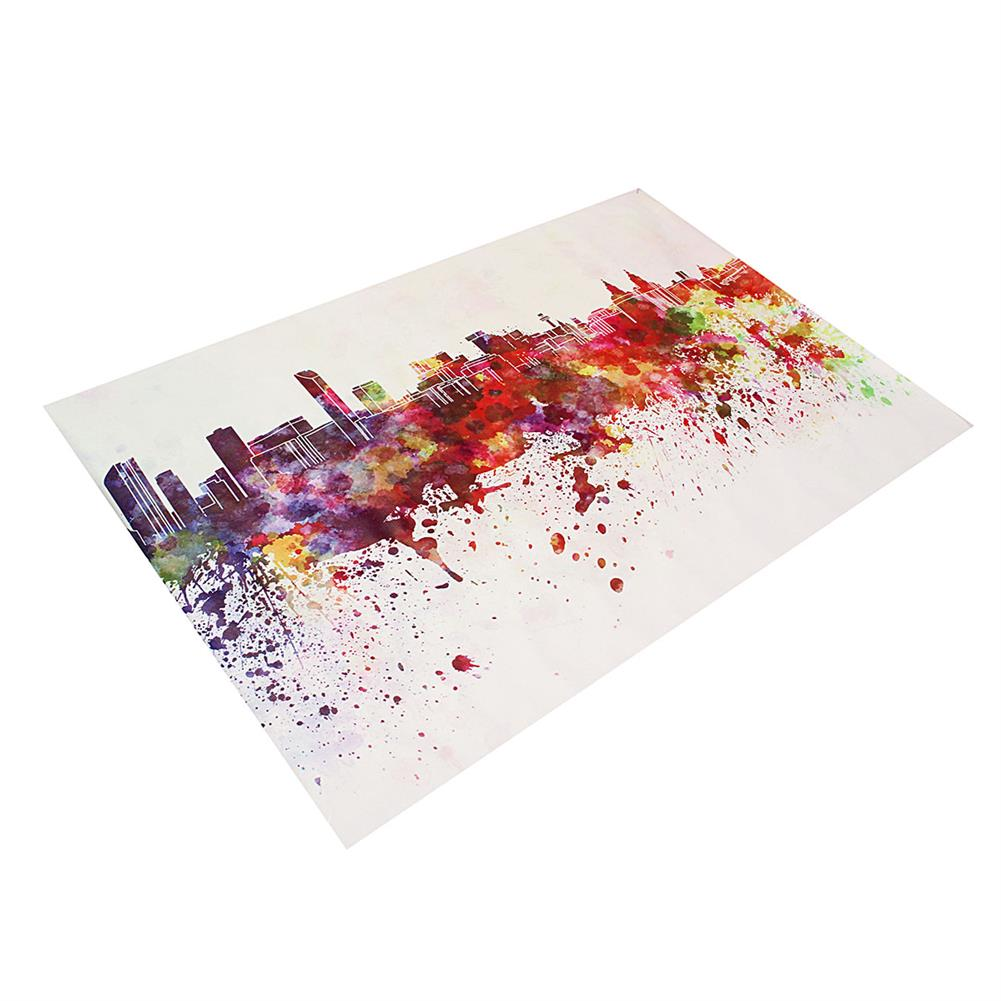 other-learning-office-supplies DIY Art Painting Color City Building Painting Canvas Decor Home Decoration Wall Pictures Living Room Wall Home Decor HOB1753798 3 1