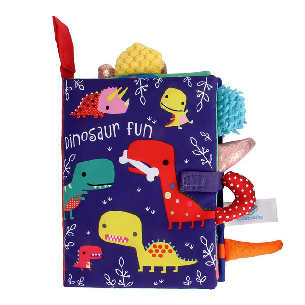 paper-notebooks Multifunctional Tail Cloth Book Educational Toy Book Tear-proof inner Sound Paper Cover Baby Enlightenment Learning Book HOB1754356 2 1