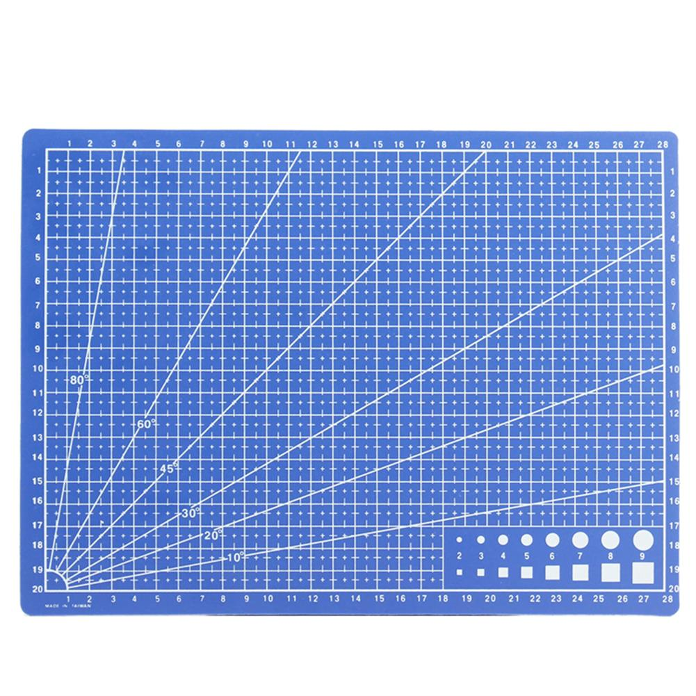 paper-cutter A4 Rectangle Grid Lines Cutter Mat Self Healing Cutting Tool Leather PVC Craft DIY Tools Cutting Plate Stationery Supplies HOB1754371 1 1