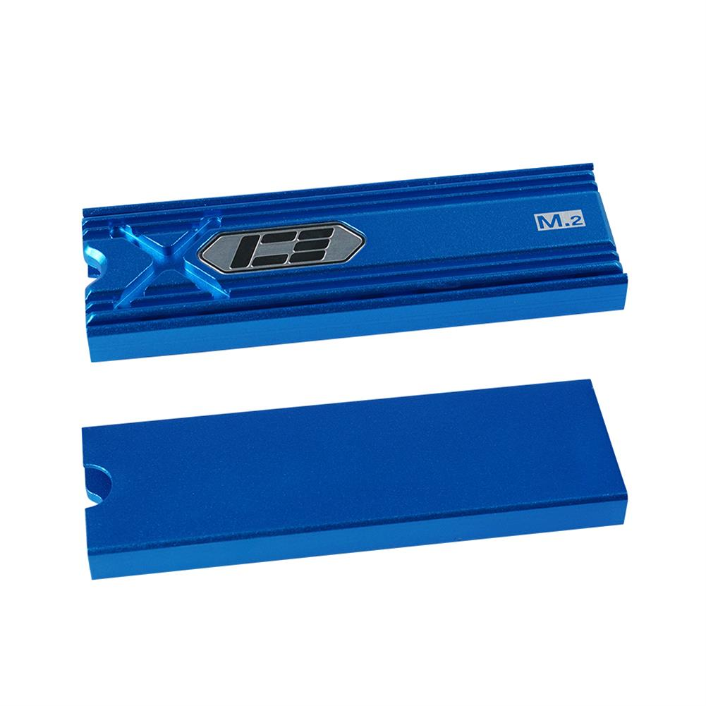 fans-cooling ICEMan Cooler M.2 HDD Cooler SSD Cooler Solid State Drive Radiator Black/Silver/Red/BlueGold HOB1754607 1 1