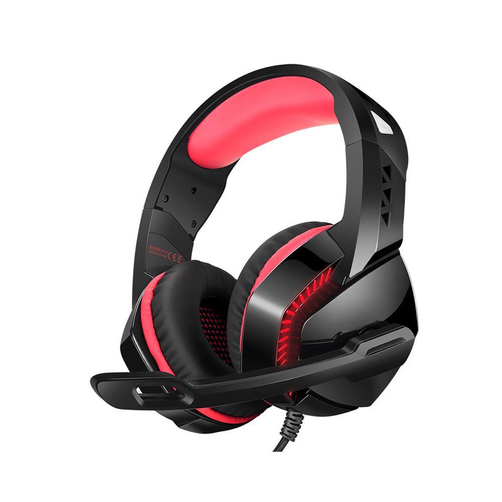 headphones PHOINIKA H-3 Gaming Headset USB Built-in Sound Card Dazzling Optical Headset 50mm Drive Unit 120 Rotating Microphone 4D Powerful Bass USB+3.5mm Audio Plug Gaming Headset HOB1755233 1 1