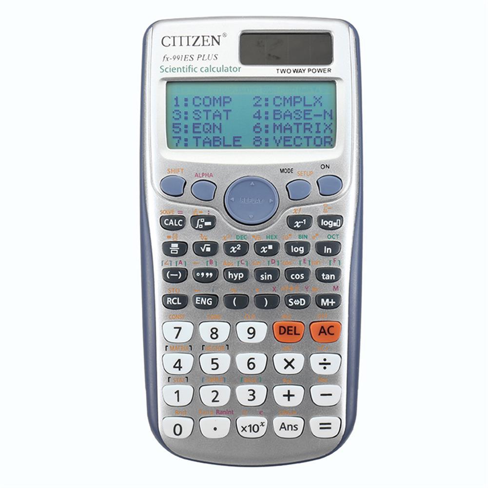 calculator FX-991ES-PLUS Scientific Calculator office Calculator 417 Kinds of Functions Student Function Scientific Calculator School Exam Calculator Cientification HOB1755303 1