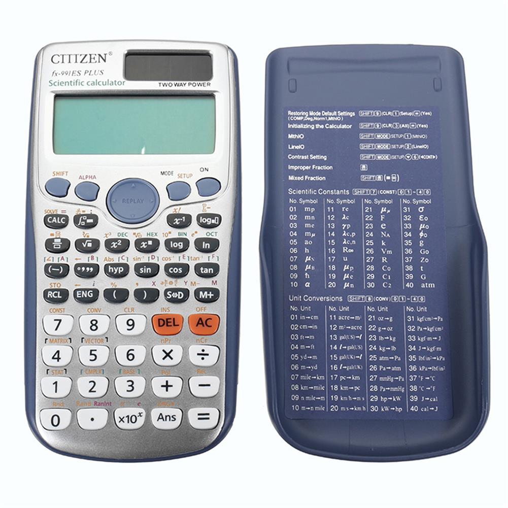 calculator FX-991ES-PLUS Scientific Calculator office Calculator 417 Kinds of Functions Student Function Scientific Calculator School Exam Calculator Cientification HOB1755303 1 1