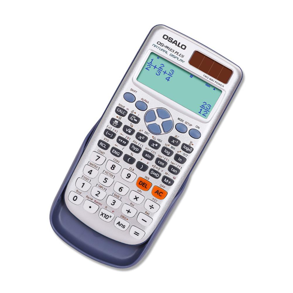 calculator OSALO Function Calculator 417 Kinds Multifunctional Dual Power Solar Scientific Computers for Students Accounter HOB1756789 1 1