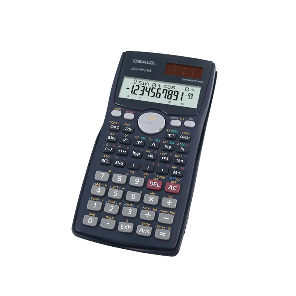 calculator OSALO OS-991MS Function Science Calculator Double Line Display Test Uses Equation Student Calculator for Students HOB1756796 2 1