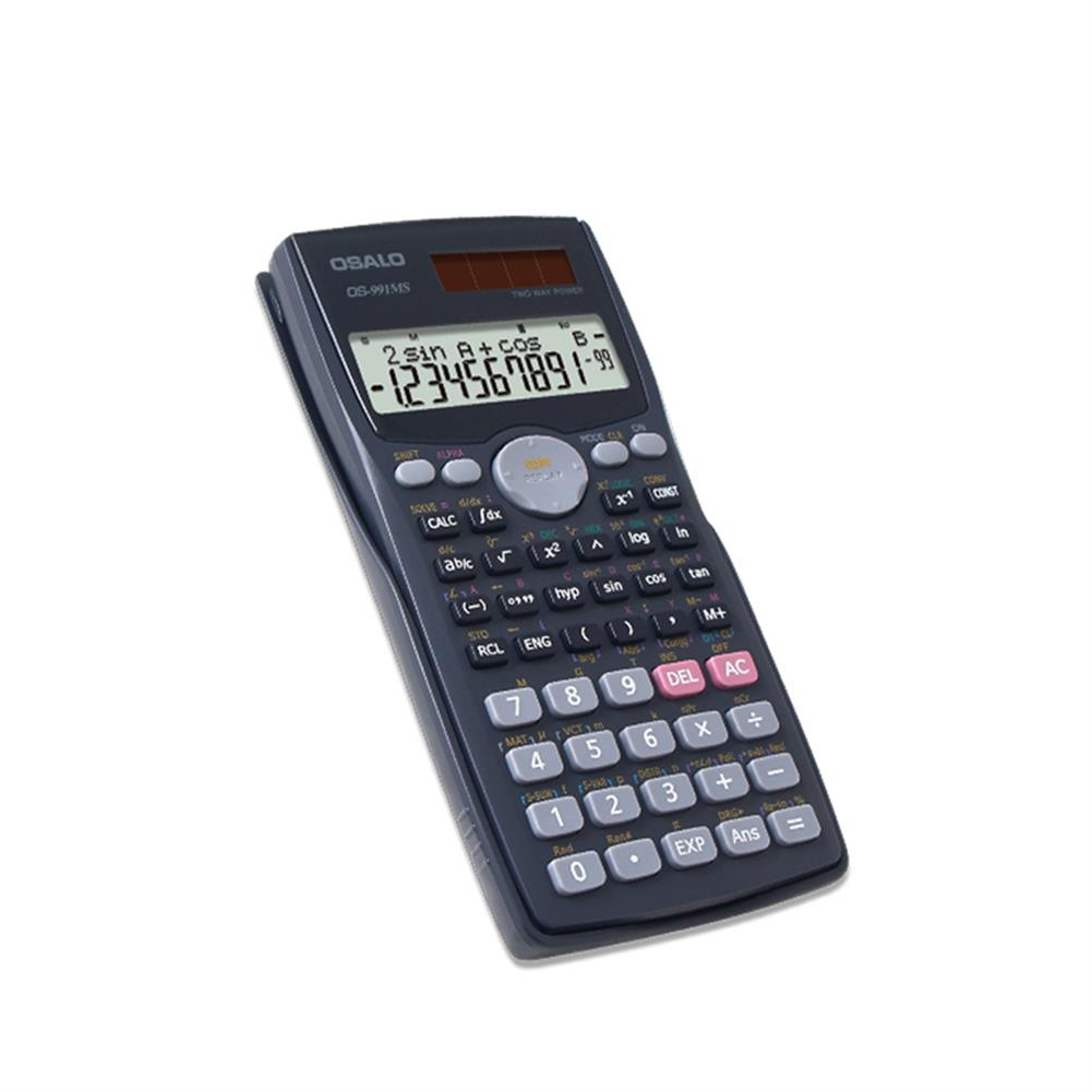 calculator OSALO OS-991MS Function Science Calculator Double Line Display Test Uses Equation Student Calculator for Students HOB1756796 3 1