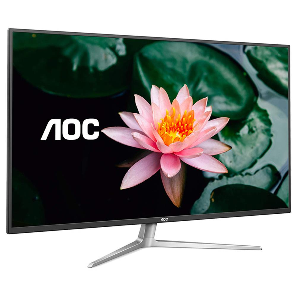 monitor AOC U4308V 43-inch 4K IPS Monitor 60Hz Gaming 178 Viewing Angle Free-Sync PBP Split Screen office Ultra Thin Frame Built-in Speakers Support with HDMI VGA DP HOB1757150 1 1