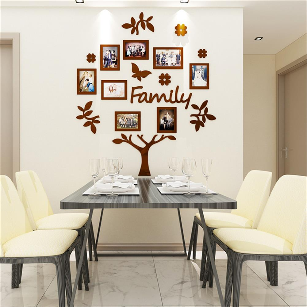 other-learning-office-supplies 3D Photo Frame Family Tree Set Home office Photo Wall Sticker Collage Hanging Decoration Creative Gifts Supplies HOB1757182 1