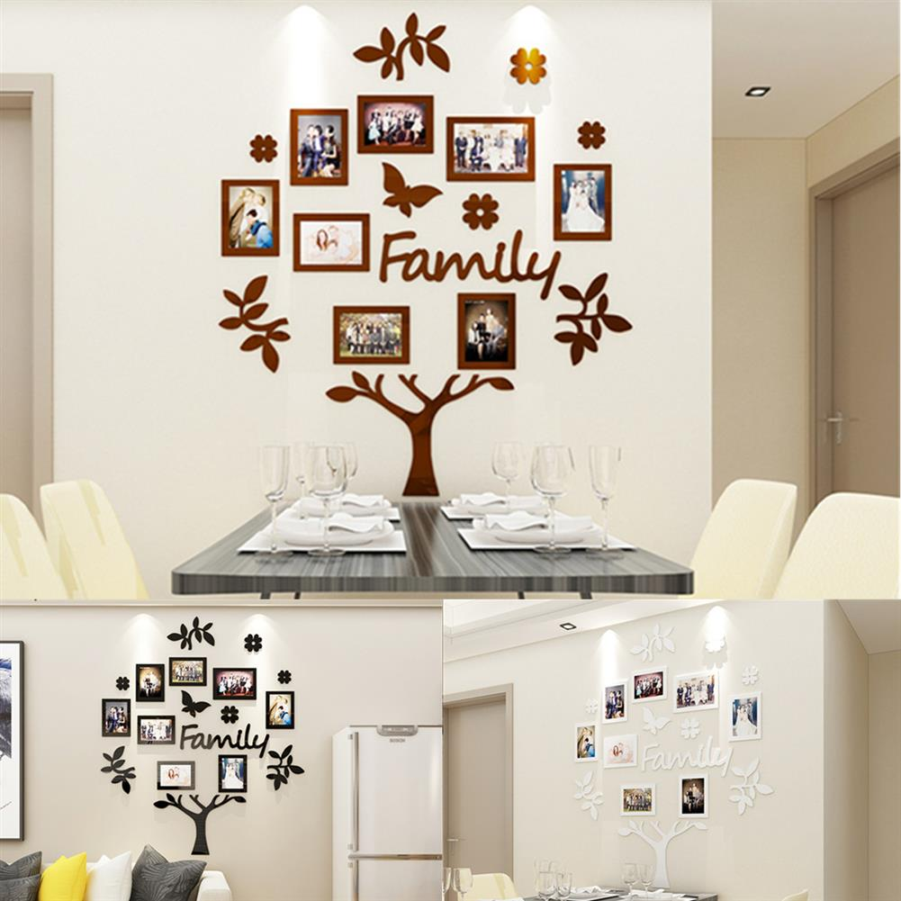 other-learning-office-supplies 3D Photo Frame Family Tree Set Home office Photo Wall Sticker Collage Hanging Decoration Creative Gifts Supplies HOB1757182 1 1
