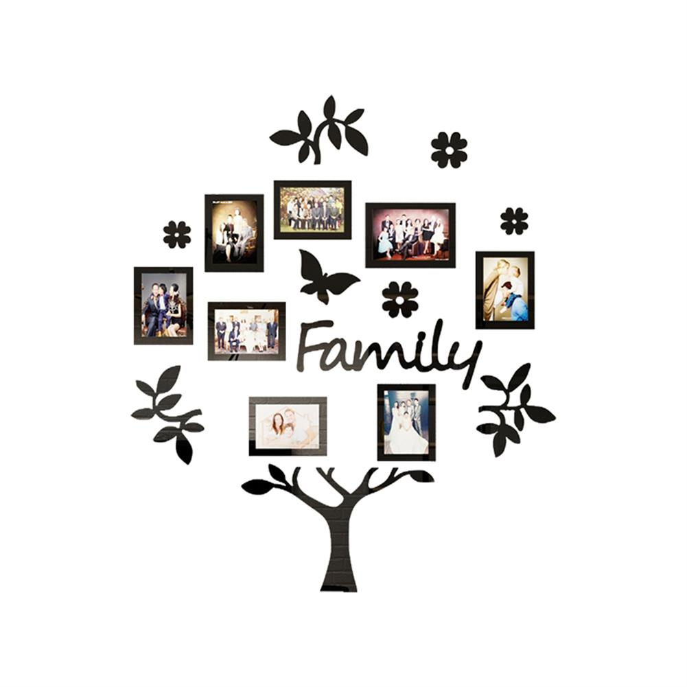 other-learning-office-supplies 3D Photo Frame Family Tree Set Home office Photo Wall Sticker Collage Hanging Decoration Creative Gifts Supplies HOB1757182 2 1