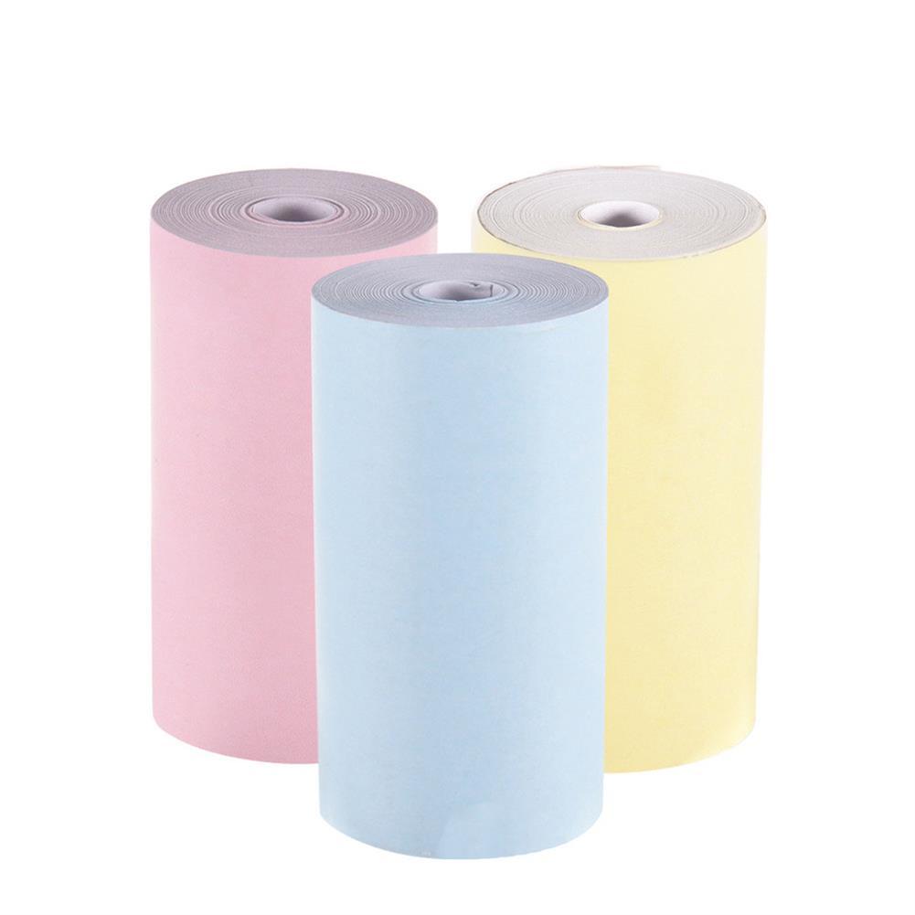 thermal-fax-paper 3 Rolls 57x30mm thermal Printer Papers for Paperang PeriPage thermal Printer HOB1757549 1