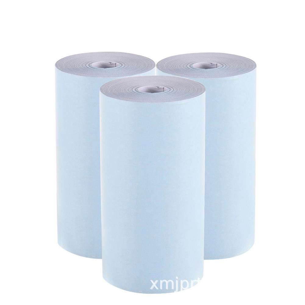 thermal-fax-paper 3 Rolls 57x30mm thermal Printer Papers for Paperang PeriPage thermal Printer HOB1757549 1 1