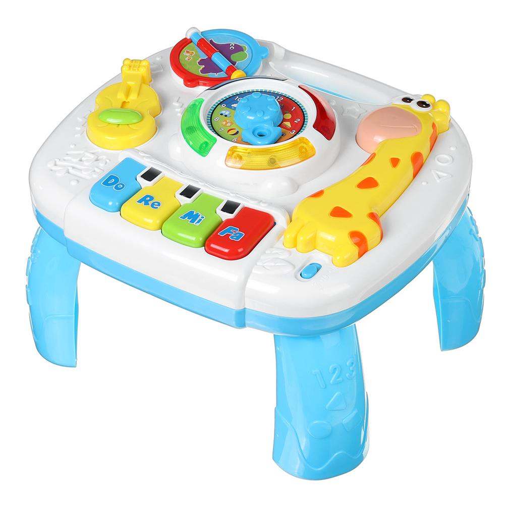 other-learning-office-supplies 2 in 1 Baby Game Table Toys Puzzle Cartoon Early Learning Desk Multifunctional Activity Table Toy Children Xmas Gift HOB1758623 1