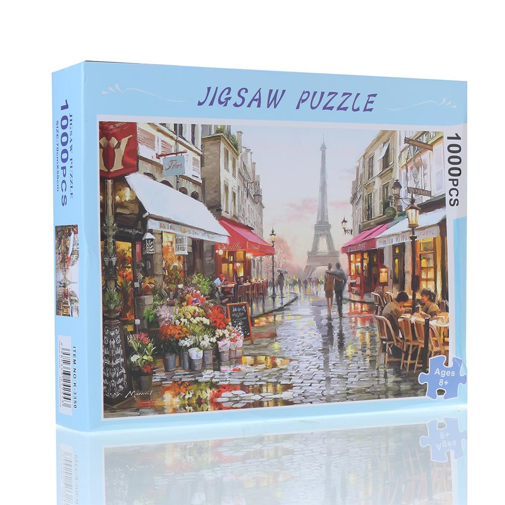 other-learning-office-supplies 75*50cm 1000PCS Jigsaw Puzzles Children Adult Puzzle Paris Scenery Educational Toy Parent Child interactive Toys HOB1758697 1