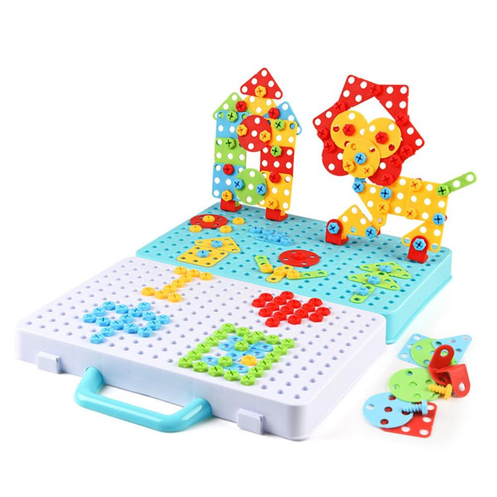 other-learning-office-supplies 188/275pcs Small Manual DIY Disassembly Toy Nut Assembly 3D Screw Puzzle Toy Building Blocks Creative Gifts for Childrens HOB1759191 1