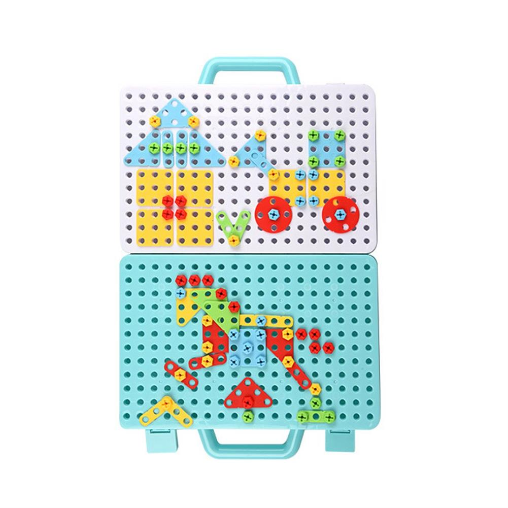 other-learning-office-supplies 188/275pcs Small Manual DIY Disassembly Toy Nut Assembly 3D Screw Puzzle Toy Building Blocks Creative Gifts for Childrens HOB1759191 1 1