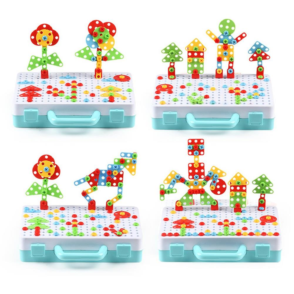 other-learning-office-supplies 188/275pcs Small Manual DIY Disassembly Toy Nut Assembly 3D Screw Puzzle Toy Building Blocks Creative Gifts for Childrens HOB1759191 2 1