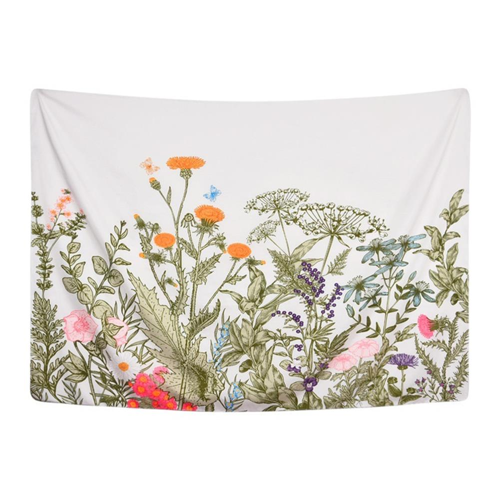 other-learning-office-supplies Floral Tapestry Wall Hanging Background Wall Cloth Fabric Decoration Living Room Bedroom office Tapestry HOB1759215 1