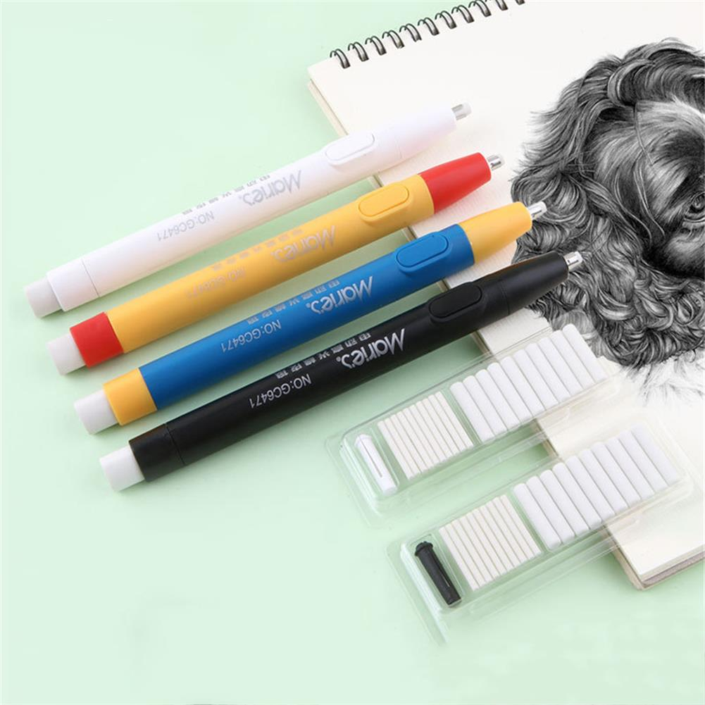 ordinary-rubber Maries Automatic Eraser Highlight Sketch Electric-Eraser Replacement Core Multifunction Ordinary Rubber Stationery HOB1759841 1 1