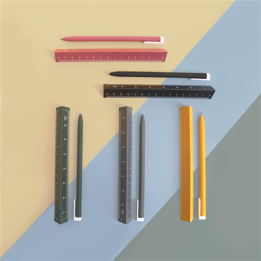 ruler Buckoofly RP-001 15cm Double Scale Pen Ruler Multifunctional Triangle Shape Drawing Rulers Students office Supplies HOB1759909 1 1