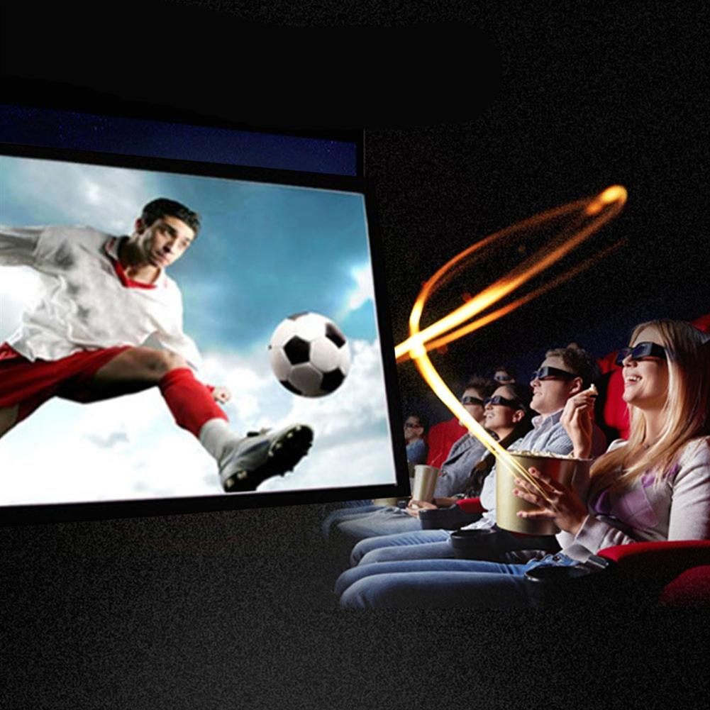 projectors-theaters 120 inch Projector Screen 16:9 Fold Projector Screen for Home Meeting Room School Restaurant Bar with 10 pcs Hook and Paste HOB1760087 2 1