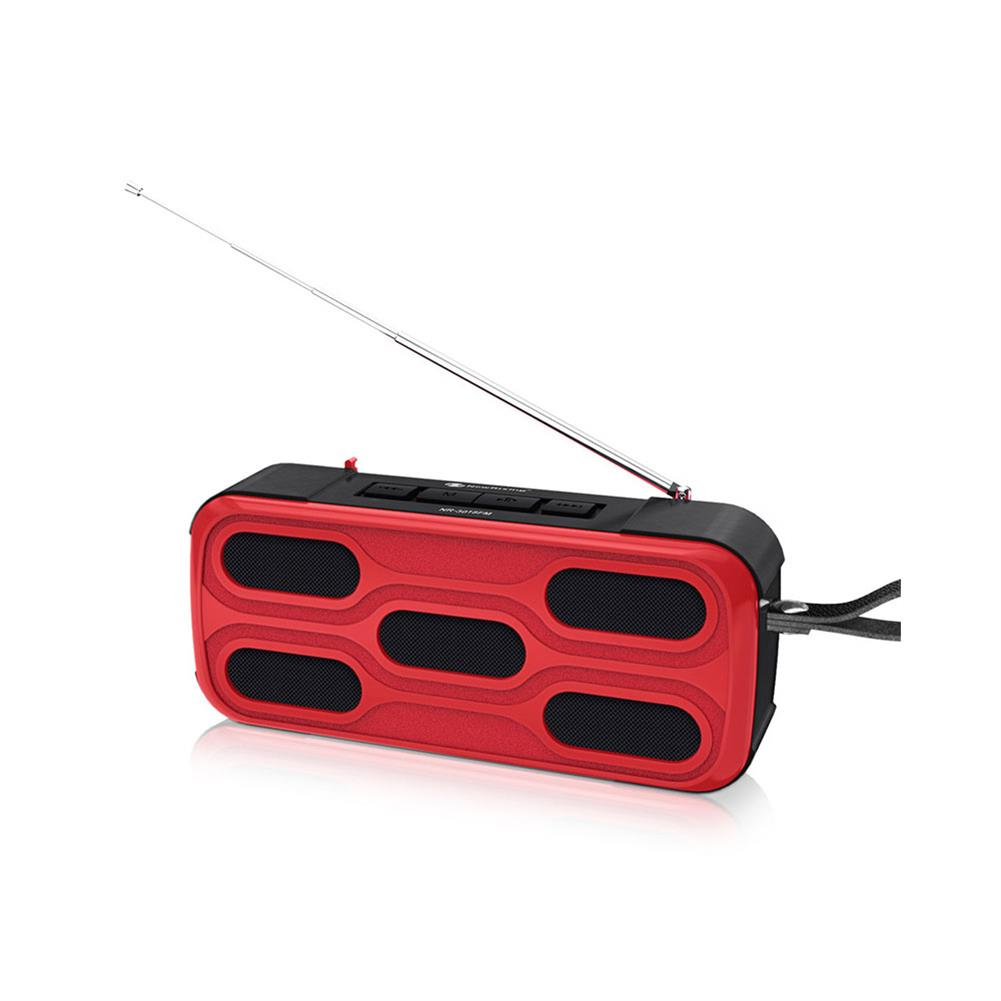 computer-speakers NewRixing NR-3018FM Outdoor Wireless Speaker Wireless bluetooth Speaker FM Radio Hands Free Calling USB Flash Drive TF Card AUX input TWS Connection. HOB1760468 1 1